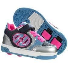 Details About Heelys Plus X2 Girls Heelys Pink Heelys Double Wheel Heelys Uk Size Shoes Kids
