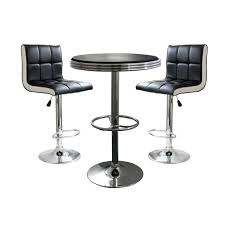 surprising tall round table with bar stools kitchen tables and
