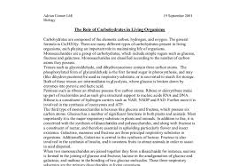 the role of carbohydrates in living organisms a level science document image preview