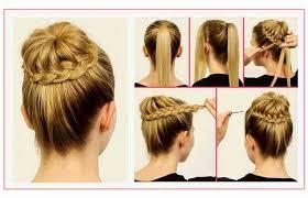 68 Frais Pictures De Tuto Coiffure Facile Cheveux Mi Long
