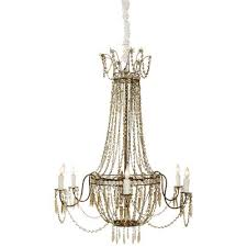 cozy aidan gray chandelier pole