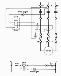 three wire control circuit indicator lamp a wiring diagram a ladder diagram of a three wire control circuit an