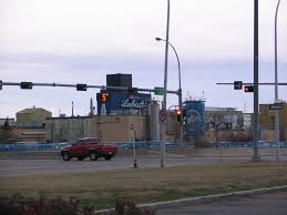 Alberta Traffic Lights Labatts Brewery Edmonton Alberta Labatt Brewery Edmonto