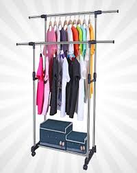 Cloth hanger stands Wooden Cloth Cloth Hanger Stand Double Pole Buy Online At Best Prices In Pakistan Darazpk Darazpk Cloth Hanger Stand Double Pole Buy Online At Best Prices In