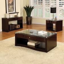 glass coffee table with drawers coffee table table cherry coffee table sets