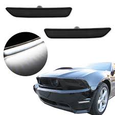 2014 Mustang Side Marker Lights 2019 Led Front Side Marker Super Bright Low Consumption Lights Fit For Ford Mustang 2010 2014 Auto Car Lamp Black Lens 290887 From Haoxincar 38 45