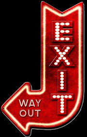 to find out more about exit this way arrow sign