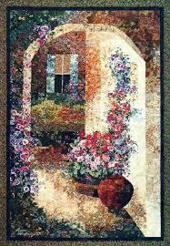 1920 best Art & landscape quilts images on Pinterest | Carpets ... & This piece was created using my fusing technique with fabric and photos  taken in southern France Adamdwight.com