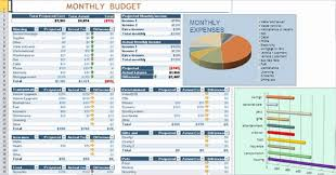 Budget Sheet In Excel Monthly Budget Worksheet Excel Template Business