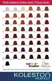 Wella Koleston Perfect Technical Shade Chart Wella Koleston Hair Color Chart Www Imghulk Com