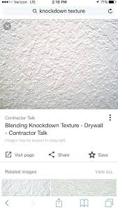 knockdown texture spray wall vs smooth homax