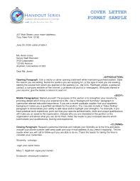 Apa Cover Letters Letter Apa Format Omfar Mcpgroup Co