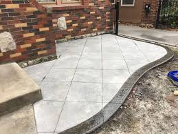 Dont Settle for Flat Gray Concrete Patios Sidewalks Driveways or