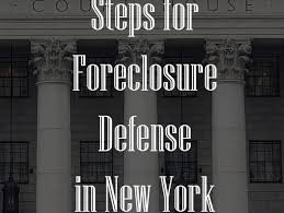 How To Answer A Foreclosure Complaint In New York Nj Ny