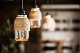 diy project rope wrapped mason jar lights