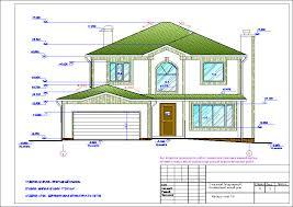 Скачать бесплатно чертежи проектов домов и коттеджей Архив  Скачать>>> Рабочий Проект Двухэтажный одноквартирный 6 ти комнатный жилой дом с гаражом Стадия АР