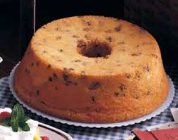 Old Fashioned Black Walnut Pound Cake Recipe