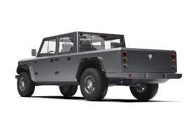 Bollinger B2 Concept is an All Electric Pickup Truck with 520 HP ...