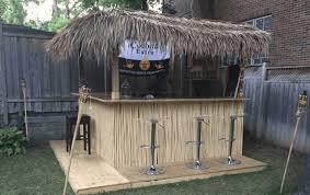 homemade tiki bar plans you can diy easily