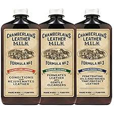 leather milk leather restoration kit leather cleaner conditioner and water protector no