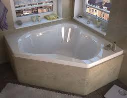 venzi tovila 60 x 60 corner soaking bathtub with center drain by atlantis