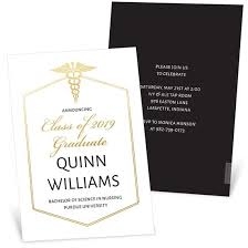Formal College Graduation Announcements Nursing Degree Graduation Announcements