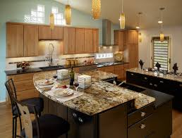 White Kitchen Island With Granite Top Kitchen Island With Breakfast Bar And Granite Top Best Kitchen