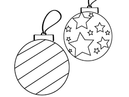 Small Picture 8 Christmas Ornament Color Pages Ornament Coloring Page Twisty