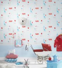 Engaging Home Interior Wall Decor With Scandinavian Wallpaper Design :  Fantastic Picture Of Kid Bedroom Decoration
