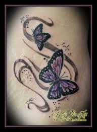 Two Little Butterflies For Shayla Dollys Skin Art Tattoo Kamloops Bc