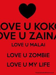 love u koko love u zainab love u malai love u zombie love u my life