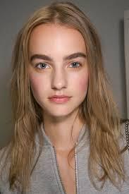 derek lam nyfw spring 2016 runway hair and makeup