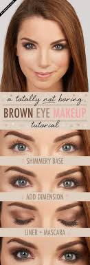 makeup ideas with tutorial for brown eyes eyeshadow eye