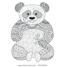 Panda Bear Coloring Pages Printable Panda Bear Coloring Pages The