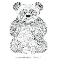 Panda Bear Coloring Pages Printable Panda Bear Coloring Pages The