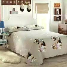 dog duvet cover dog print bedding set king queen size cartoon quilt duvet cover kids bed dog duvet