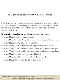auto sales resume samples top 8 car sales consultant resume samples 1 638 jpg cb 1431923869