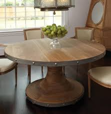 Industrial Kitchen Table Furniture Photo Industrial Style Round Dining Table Images