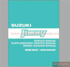 suzuki jimny electrical wiring diagram images suzuki jimny sn413 sn415d service repair manual wiring