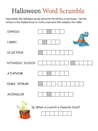 Word Scramble Worksheet for Student   Kiddo Shelter