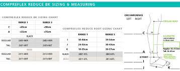 Compreflex Sizing Chart Sigvaris Compreflex Reduce Below Knee