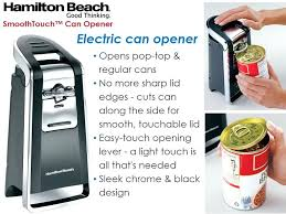 smooth touch can opener can openers and crushers beach smooth touch can opener black and hamilton