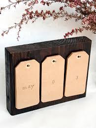 diy calendar blocks reclaimed wood perpetual calendar d i y