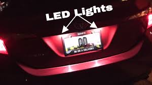 Toyota Camry License Plate Light Replacement How To Change License Plate Lights On 2014 2017 Toyota Corolla