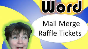 how to get a raffle ticket template for microsoft word