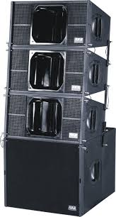 concert speakers system. q1 line array-dual 10\ concert speakers system
