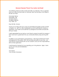 The Best Thank You Letters Thank You Letter Sample Email After Interview Best Thank You Email