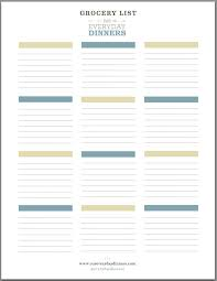 grocery list template printable blank grocery list template expin franklinfire co