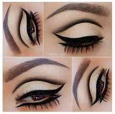eye makeup inspiration 60 s