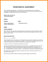 sample rental agreement letter house rental agreement template template business